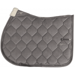 Dy'on Corduroy saddle pad grey